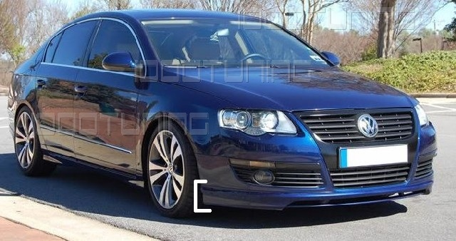 vw passat 3c front spoiler r line r36 spoiler new lip. Black Bedroom Furniture Sets. Home Design Ideas