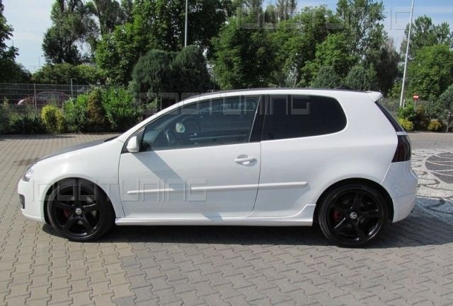 vw golf v 5 seitenschweller schweller spoiler r32 gti ed30 edition 30 ebay. Black Bedroom Furniture Sets. Home Design Ideas