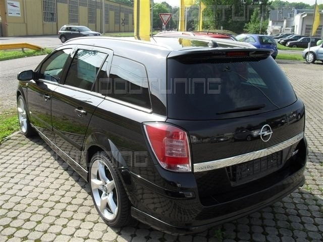 spoiler posteriore opel astra h caravan. Black Bedroom Furniture Sets. Home Design Ideas