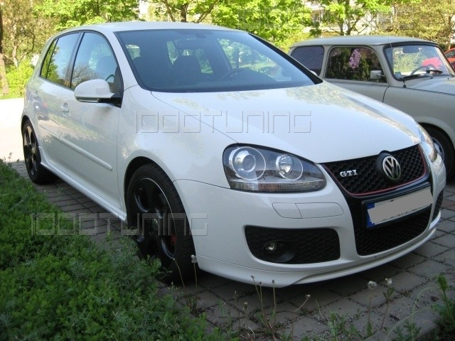 vw golf v mk5 gti ed30 front bumper spoiler frontlip ebay. Black Bedroom Furniture Sets. Home Design Ideas
