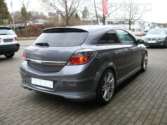 opel astra h gtc bodykit opc line look front spoiler side sills roof spoiler ebay. Black Bedroom Furniture Sets. Home Design Ideas
