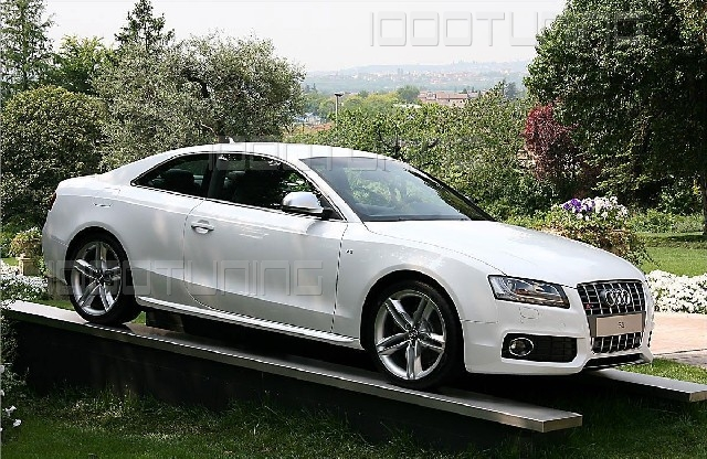12 Für Audi A5 Sportback Seitenschweller Leisten Seitenleisten S-Line Schweller